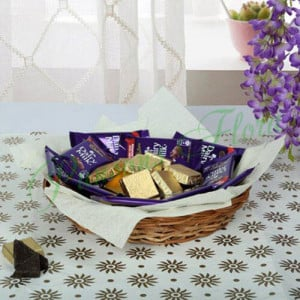 Chocolaty Wish Basket - Online Gift Ideas