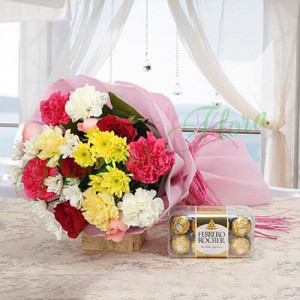 Colourful Explosions - Online Flower Delivery In Kurukshetra