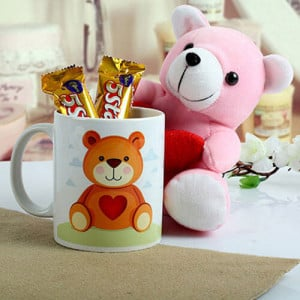 Cute n Sweet Hamper - Online Gift Ideas
