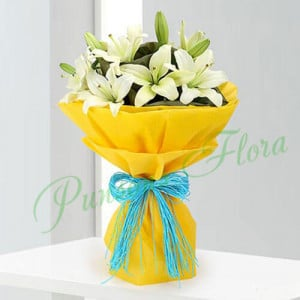 Love Of Lilies - Online Flower Delivery In Kurukshetra