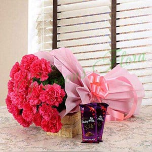 Magnificent Combo - online flowers delivery in dera bassi