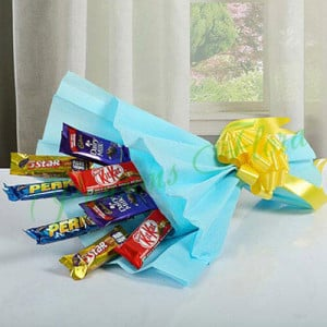 Mixed Chocolates Bouquet - Online Gift Ideas