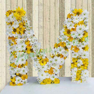 Personal Alphabetic Beauty - online flowers delivery in dera bassi