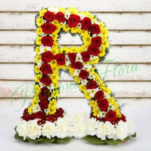 Personal Alphabetic Fashionista - online flowers delivery in dera bassi