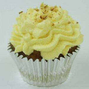 Butterscotch Pink Creamy 6 Cup Cakes - Send Cup Cakes Online
