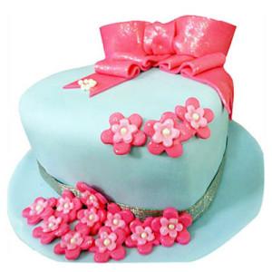Fondant Hat Cake - Birthday Cake Online Delivery