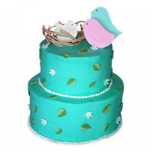 Say Hi To The Baby Cake - Birthday Cake Online Delivery