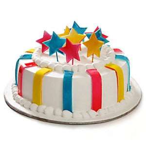 Celebration Cake 1kg - Birthday Cake Online Delivery