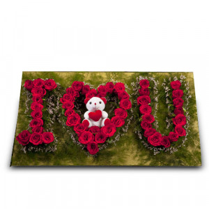 I Love You - Send Best Flowers Arrangement Online