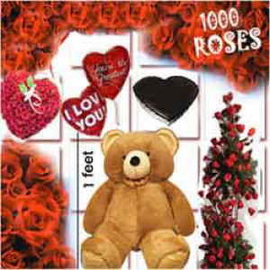 1000 Roses Love Special - Same Day Delivery Gifts Online