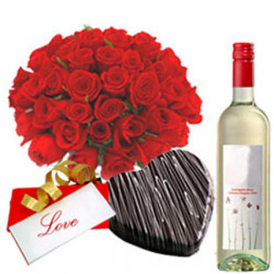 Heartful Sentiments - Send Best Flowers Arrangement Online