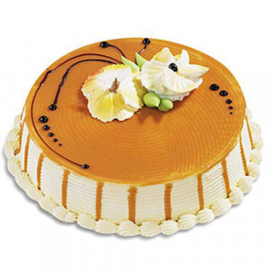 Five Star - Butterscotch Cake - Birthday Cake Online Delivery - Send Five Star Cake Online