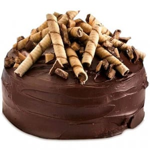 Five Star - Chocolate Ganache Cake - Birthday Cake Online Delivery