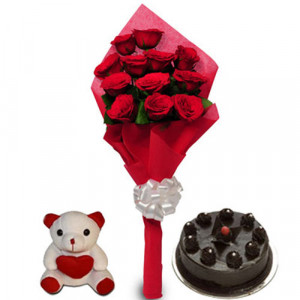 Love Treat for U - Teddy Day Gifts Online