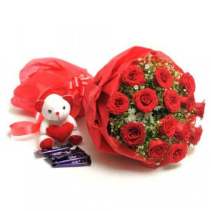 Sweet Romance - Teddy Day Gifts Online