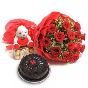 Sweet Love Teddy - Teddy Day Gifts Online