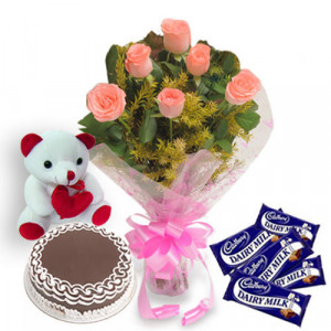 Pink Beautiz - Teddy Day Gifts Online