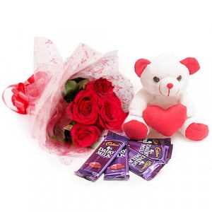Flowers For You - Birthday Gifts - Teddy Day Gifts Online