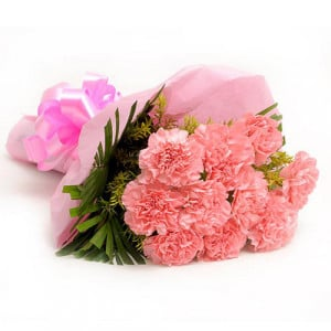 Combination 10 Carnations - Send Valentine Gifts for Her