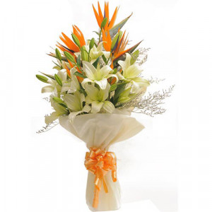 Exotic Bouquet - Send Valentine Gifts for Her