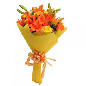 Orange Delight - Send Valentine Gifts for Her