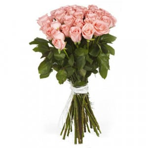 Make Me Blush 40 Pink Roses - Send Valentine Gifts for Her