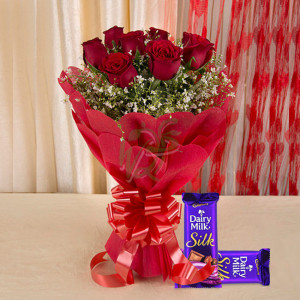 Affection Combo - online flowers delivery in dera bassi