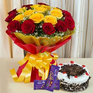 Delights Galore - online flowers delivery in dera bassi