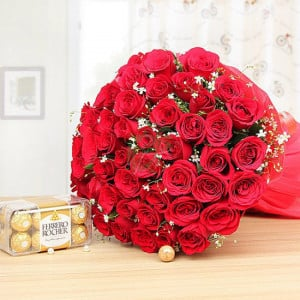 Love Begins - online flowers delivery in dera bassi