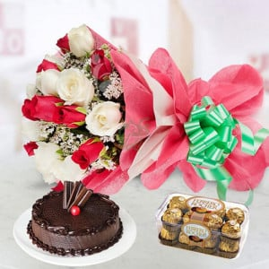 Jingle Bells - online flowers delivery in dera bassi
