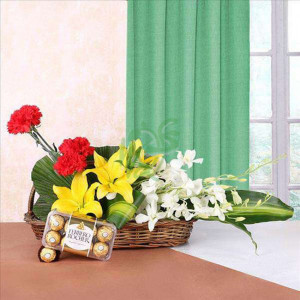 Anniversary Delight - online flowers delivery in dera bassi
