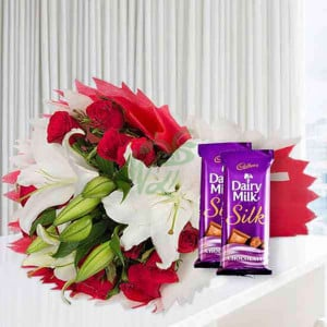 Love From The Wonderland - online flowers delivery in dera bassi