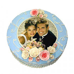 Photo Cake 2kg - Send Personalised Photo Cakes Online