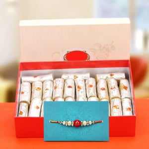 Exquisite Rakhi Hamper - Rakhi for Brother Online
