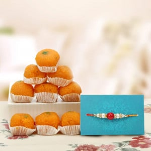 Joyful Rakhi Hamper - Rakhi for Brother Online