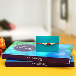 Double Celebrations - Rakhi for Brother Online