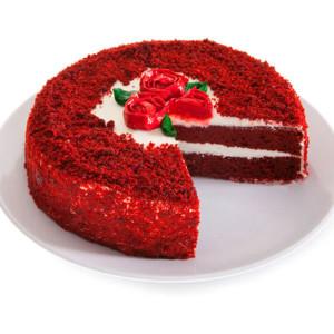 Dark Red Velvet Cake