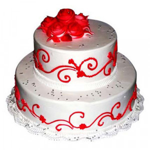 The Royal Three Tier Cake 3 Kg - Birthday Cake Online Delivery
