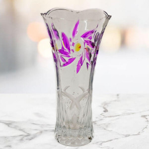 Pink Decorative Glass Vase - Send Gifts to Chandigarh