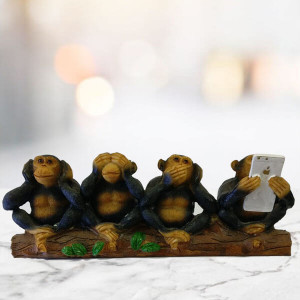 Four Wise Monkey - Send Gifts to Chandigarh
