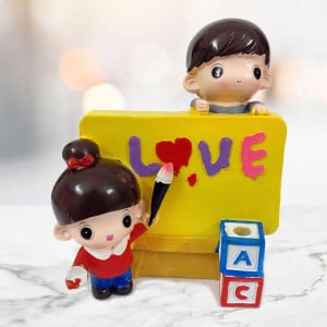 Love Pen Stand Statue - Send Gifts to Chandigarh