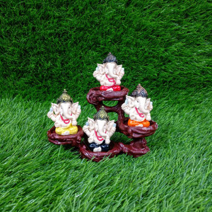4 Ganesha Showpiece Idols