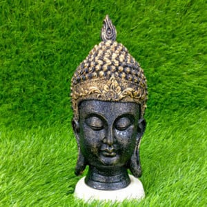 Buddha Head Medium Showpiece