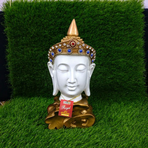 Royal Look Buddha Head