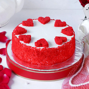 Classic Red Velvet Cake - Online Cake Delivery in Panchkula