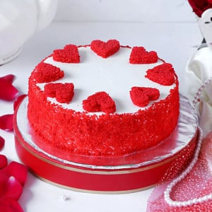 Classic Red Velvet Cake - Cake Delivery in Chandigarh