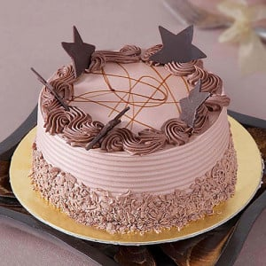 Stars Chocolate Cake - Cake Delivery in Chandigarh