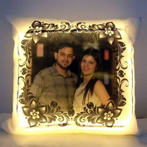 Personalised LED Cushion - Birthday Gifts for Her
