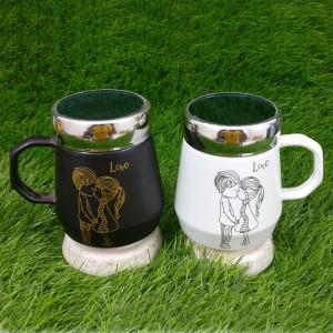 Unique Love Ceramic Mug - Send Gifts to Panchkula Online