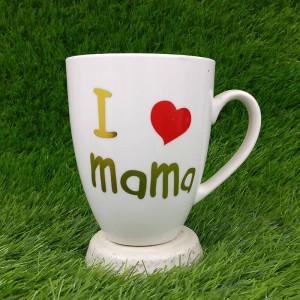 I Love Mama Ceramic Mug - Mugs